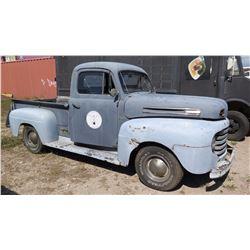 1949 Vintage Ford F1 Pickup Truck - No Title, No Keys