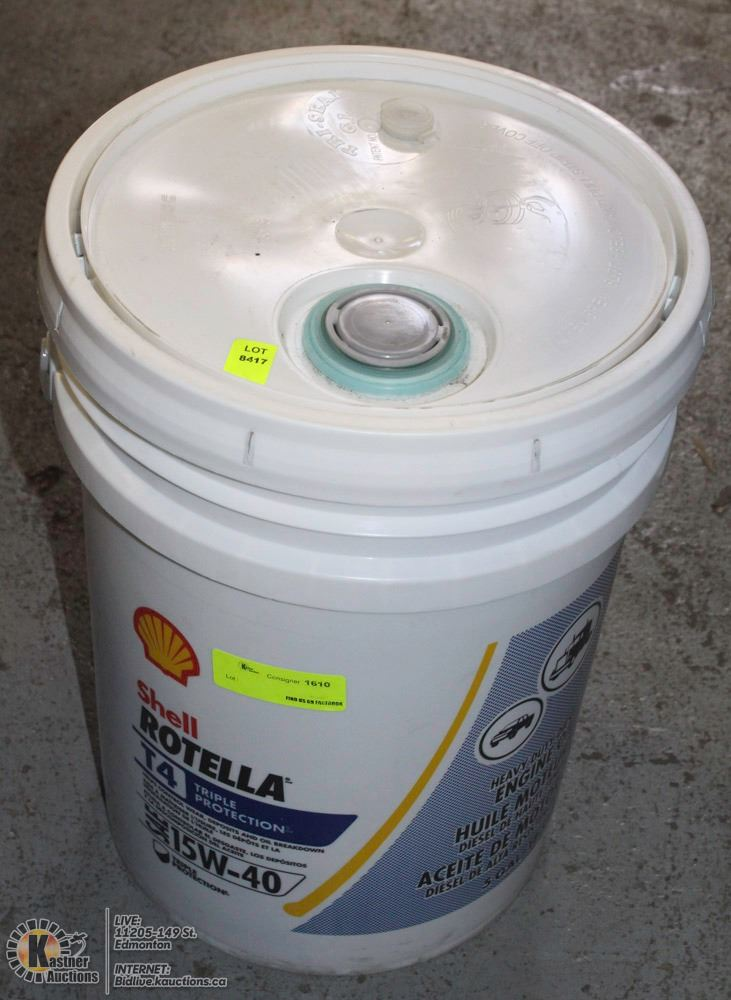 Shell Rotella T4 >> 20l Shell Rotella T4 15w 30 Engine Oil