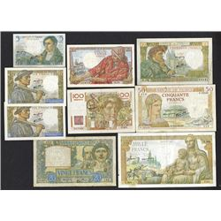 Banque de France. 1940-53 Issues.