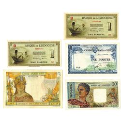 Banque de L'Indochine and Others, Quintet of Issued Notes