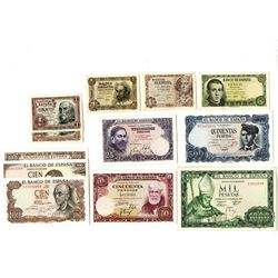 Banco de Espana, 1948-1971, Dozen of Issued Notes