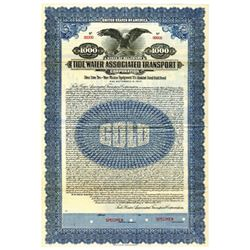 Tide Water Associated Transport Corp., 1927 Specimen Bond
