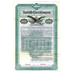 Equitable Trust Co., 1901 Specimen Bond