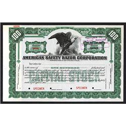 American Safety Razor Corp.