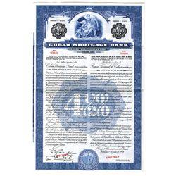 Cuban Mortgage Bank, 1944 Specimen Bond