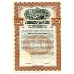 Goodyear Lumber Co., 1902 Specimen Bond