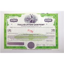 Halliburton Co., ca.1960-1970 Specimen Bond