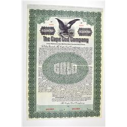 Cape Cod Company, 1910 Specimen Bond.