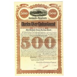 Charles River Embankment Co., 1893 Specimen Bond