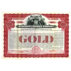 Standard Cordage Co., 1906 Specimen Bond
