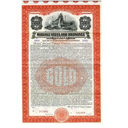 Galveston Wharf Co., 1926 Specimen Bond