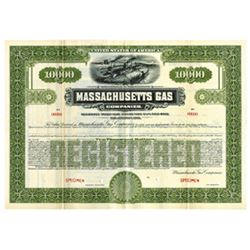 Massachusetts Gas Co., 1926 Specimen Bond