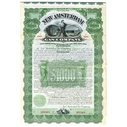 New Amsterdam Gas Co., 1898 Specimen Bond