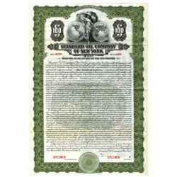 Standard Oil Co. of New York, 1921 Specimen Bond