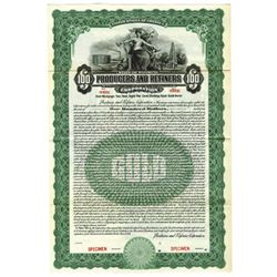 Producers and Refiners Corp., 1921 Specimen Bond