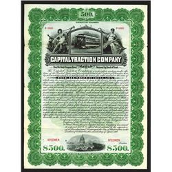 Capital Traction Co. 1900.