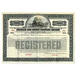 Chicago and North Western Railway Co., ca.1900-1920 Specimen Bond