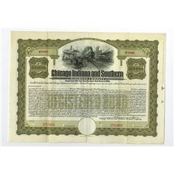 Chicago Indiana and Southern Railroad Co., ca.1900-1910 Specimen Bond