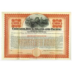 Chicago, Rock Island and Pacific Railroad Co., 1902 Specimen Bond