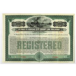 St. Paul and Kansas City Short Line Railroad Co., ca.1900-1910 Specimen Bond