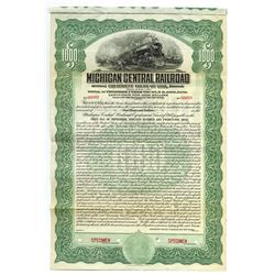 Michigan Central Railroad Co., 1917 Specimen Bond