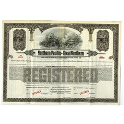 Northern Pacific-Great Northern, 1921 Specimen Bond