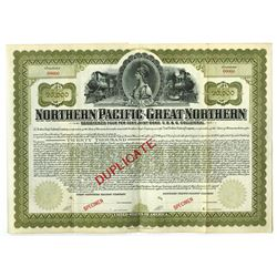 Northern Pacific-Great Northern, ca.1900-1920 Specimen Bond