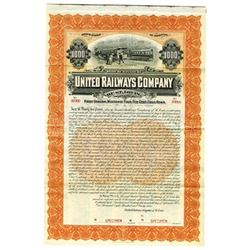 United Railways Co. of St. Louis, 1899 Specimen Bond