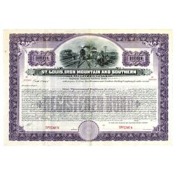 St. Louis, Iron Mountain and Southern Railway Co., ca.1900-1920 Specimen Bond