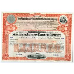 New Jersey Junction Railroad Co., ca.1900-1920 Specimen Bond