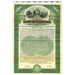 Albany and Susquehanna Railroad Co., 1906 Specimen Bond