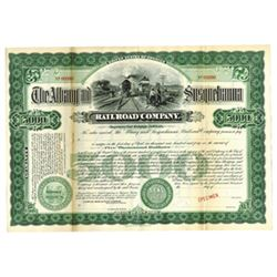 Albany and Susquehanna Railroad Co., ca.1900-1920 Specimen Bond