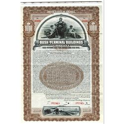 Bush Terminal Buildings Co., 1910 Specimen Bond
