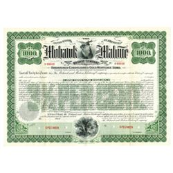 Mohawk and Malone Railway Co., 1902 Specimen Bond