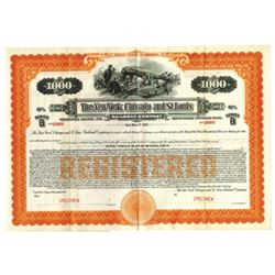 New York, Chicago and St. Louis Railroad Co., 1921 Specimen Bond