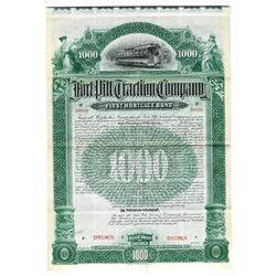 Fort Pitt Traction Co., 1895 Specimen Bond