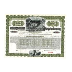 Lehigh Coal and Navigation Co., 1904 Specimen Bond