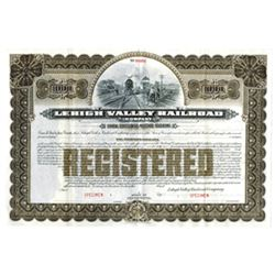 Lehigh Valley Railroad Co., ca.1900-1910 Specimen Bond