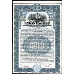 Union Pacific Railroad Co. 1908 Specimen Bond.