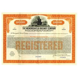 Monongahela Railway Co., 1935 Specimen Bond