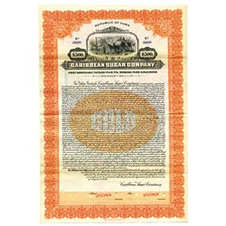 Caribbean Sugar Co., 1926 Specimen Bond