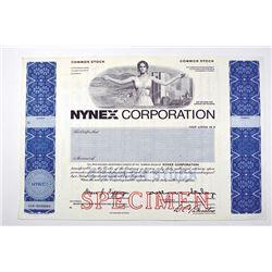 Nynex Corp., ca.1970-1980 Specimen Stock Certificate