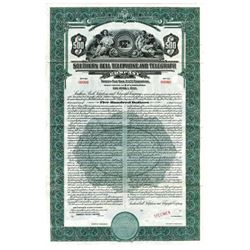 Southern Bell Telephone and Telegraph Co., 1937 Specimen Bond