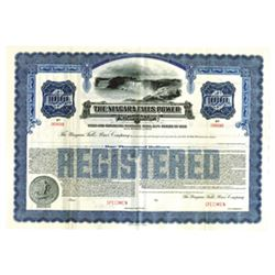 Niagara Falls Power Co., ca.1930-1940 Specimen Bond