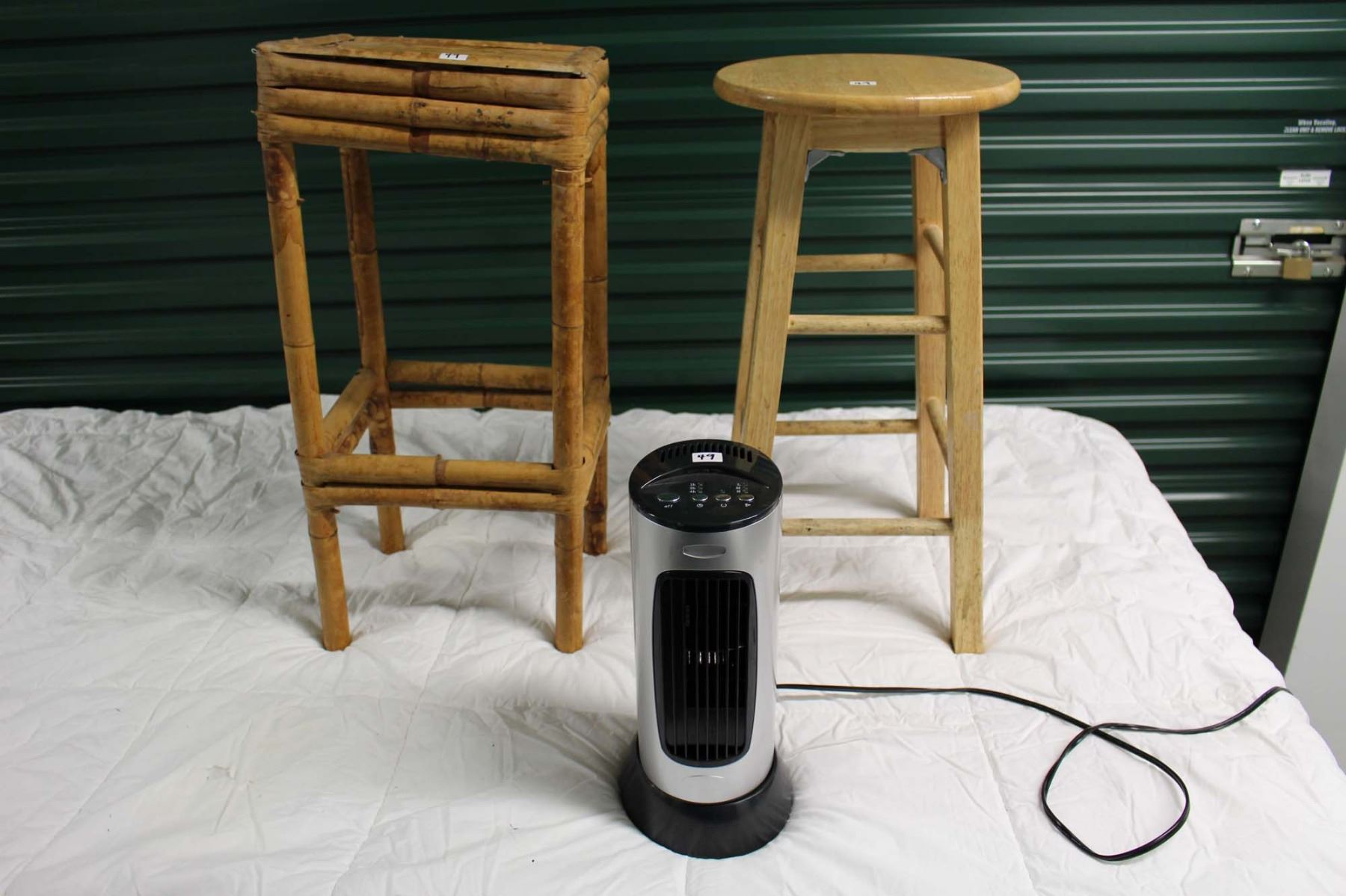 Terrific Wooden Stool Plant Stand Small Fan Working Squirreltailoven Fun Painted Chair Ideas Images Squirreltailovenorg