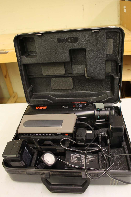 Rca Vhs Hq Video Recorder Pro Edit Auto Focus W Case
