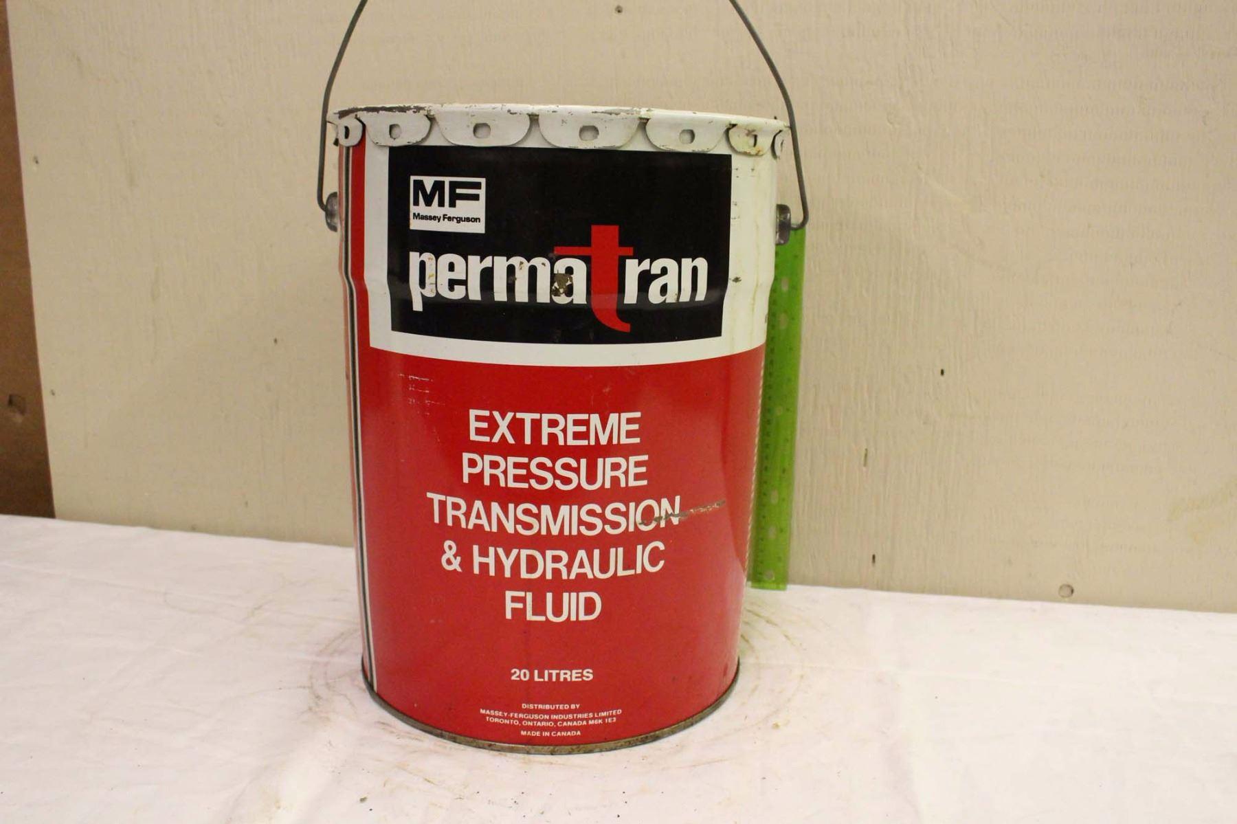 MF Perma Tran Extreme Pressure Transmission& Hydraulic Fluid Pail  (20Ltrs)(Emptied)