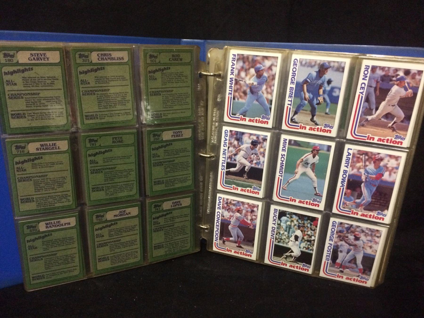 1981 Topps Baseball Cards Set Nm M