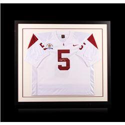 Reggie Bush Framed Autographed Jersey