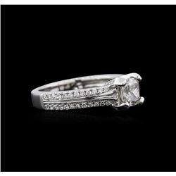 1.36 ctw Diamond Ring - 18KT White Gold